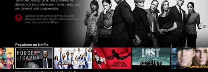 Netflix muda visual do serviço para facilitar navegação do usuário